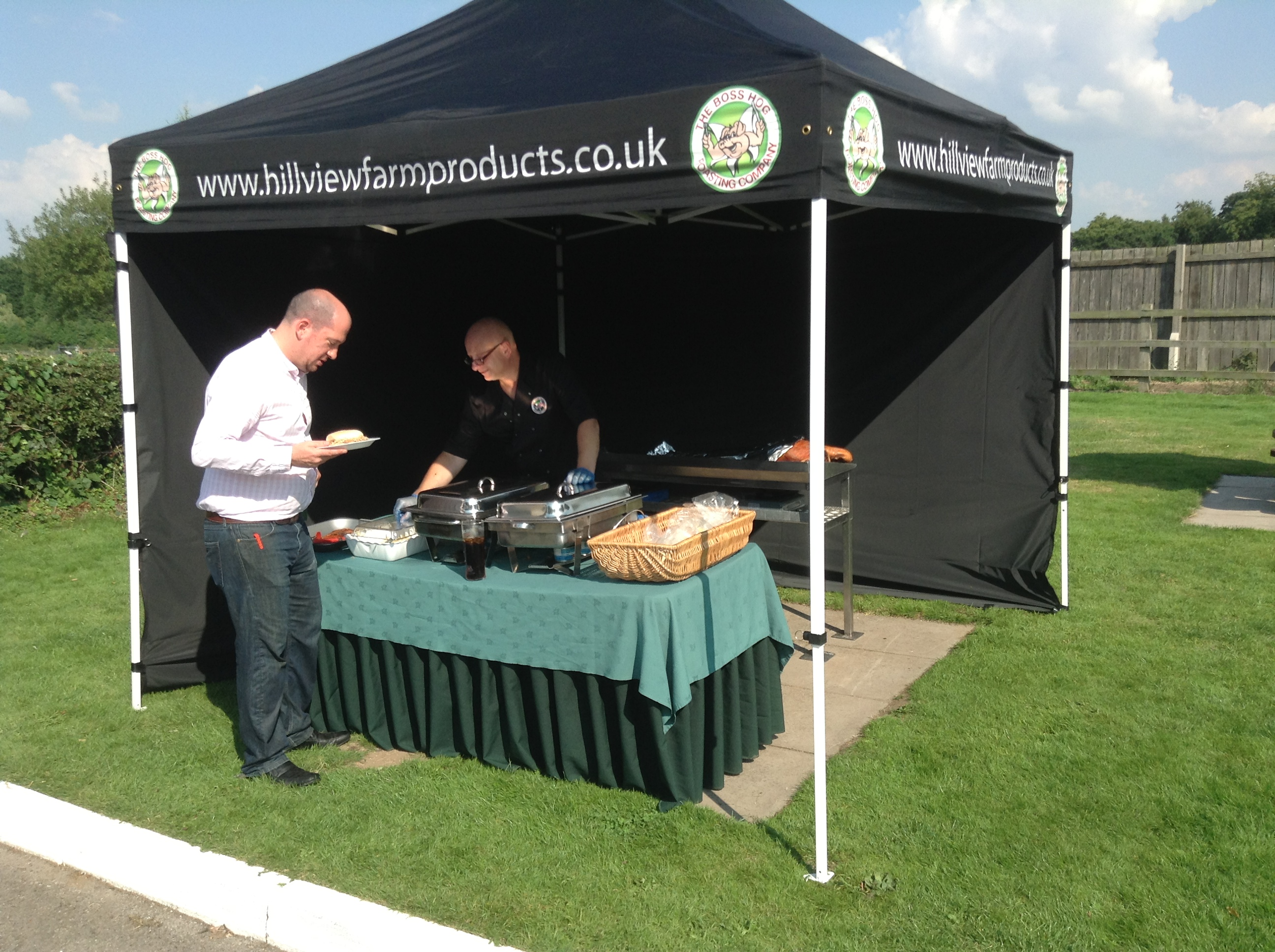 The Swan With Two Necks Hog Roast Corporate Event
