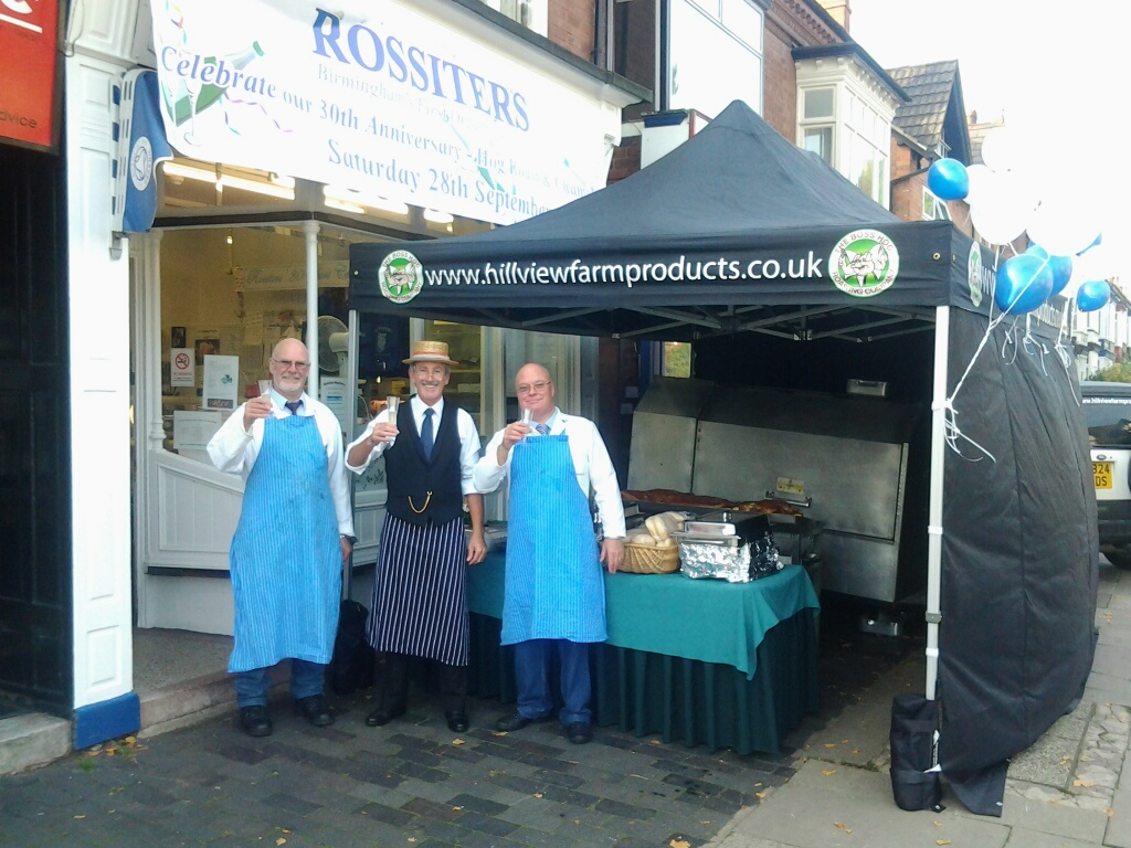 Rossiters Butchers Birmingham 30th Anniversary